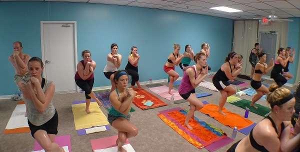 Bikram-Yoga