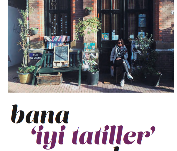 bana iyi tatiller deme  [yoga journal]