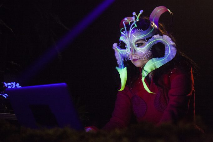 Björk performs at La Selection de Björk during the Red Bull Music Academy in Montreal, September 24 to October 28, 2016